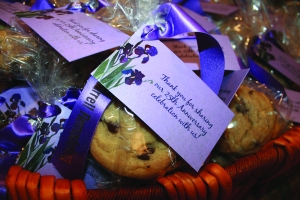 Cookie gift bags