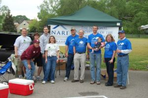 NARI and Rebuilding Together volunteers partner for a good cause.