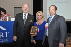 Lori Ring and Steve Watters of The Hamilton Parker Company based in Columbus, Ohio are honored to receive the 2013 Distributor of the Year award in this year's Achievement Award program.