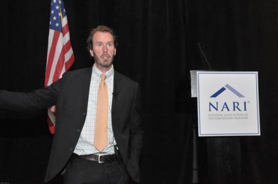 John F. Kuenstler , of Barnes & Thornburg, offers insights into the hiring process during NARI's Leadership Summit.
