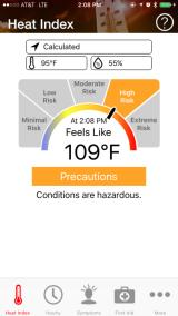 Announcing OSHA-NIOSH Heat SafetyTool