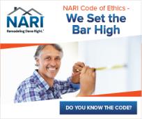 NARI Members follow the code. Do you?
