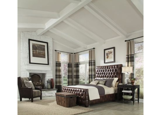 Bedroom with WoodHaven Before Image